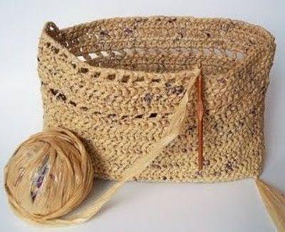 Plastic Yarn Basket