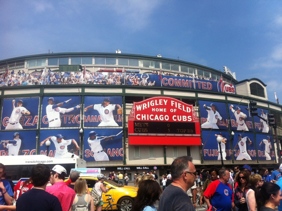 Wrigley Field Chicago Cubs vs Mets May 18th 2013
