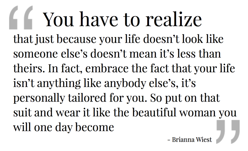 Realize- quote Brianna Wiest